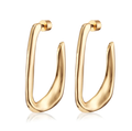 Jenny Bird Edith Hoops in Gold