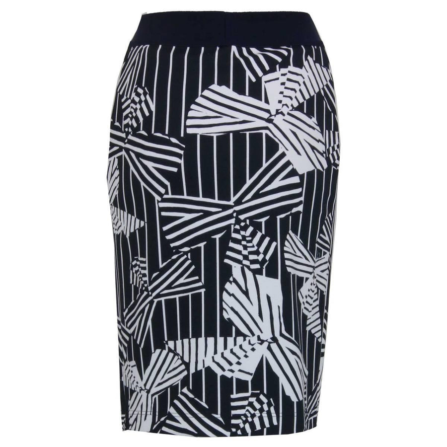 Riani Graphic Printed Skirt