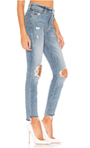 Mother The Stunner Ankle Step Fray Jean