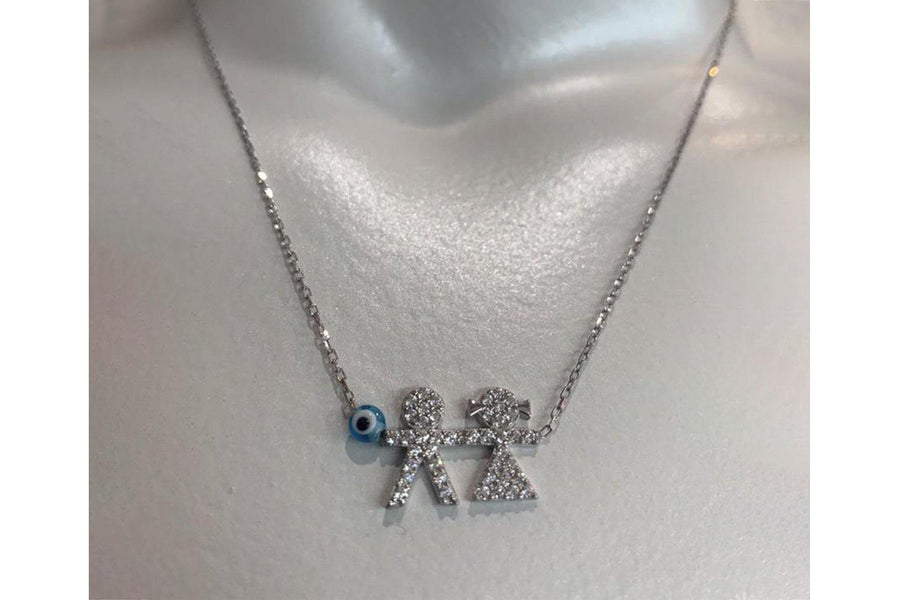 CT Kid Boy Girl Necklace - Carriage Trade Shop