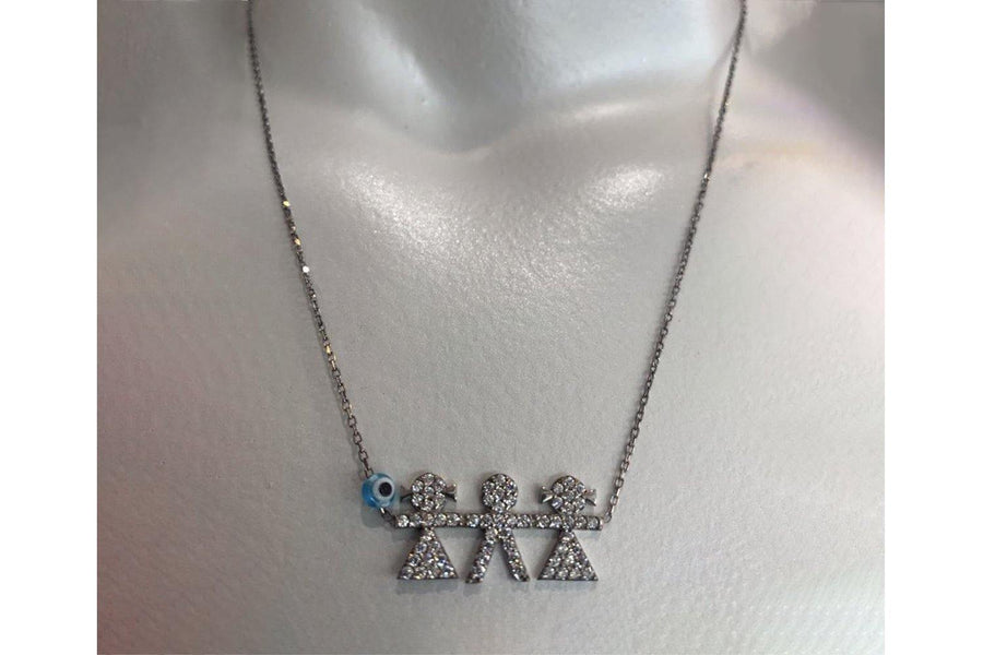 CT Kid Girl Boy Girl Necklace - Carriage Trade Shop