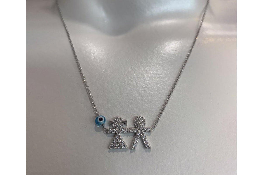 CT Kid Girl Boy Necklace