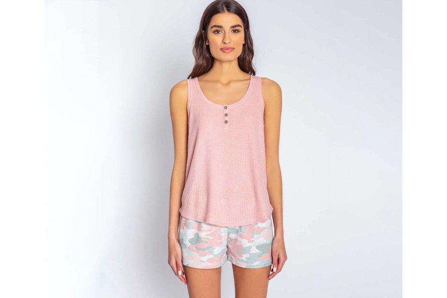 PJ Salvage Thermal Knit Relaxed Tank