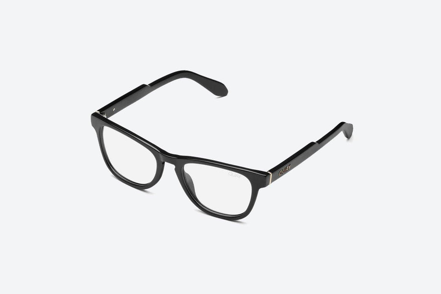 Quay Hardwire Mini Blue Blocker Readers