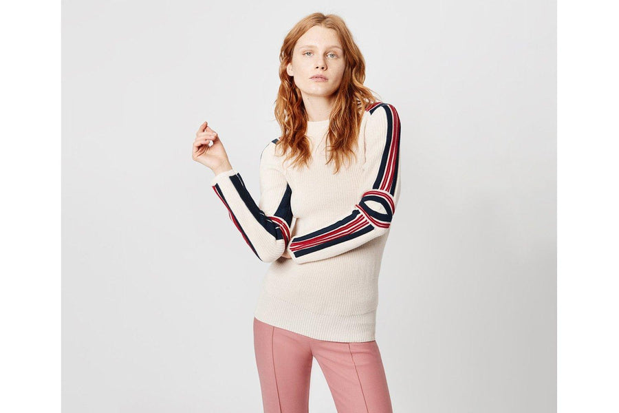SMYTHE SWEATER FITTED COTTON