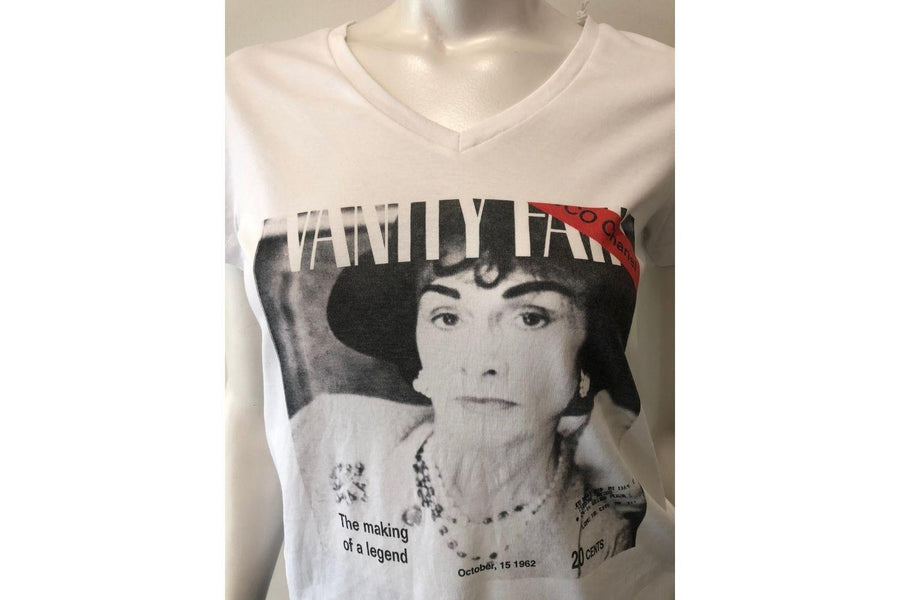 Suzi Roher Chanel T-Shirt