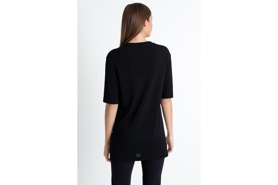 Shan Tunic Tee with Sparkle Pocket