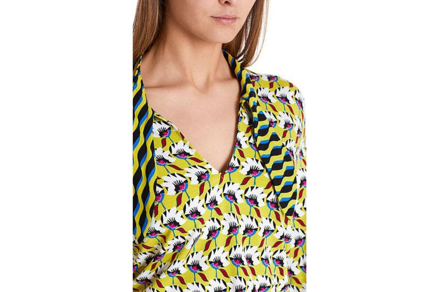 Marc Cain Top with Panel Print