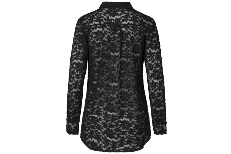 Rosemunde Black Lace Blouse