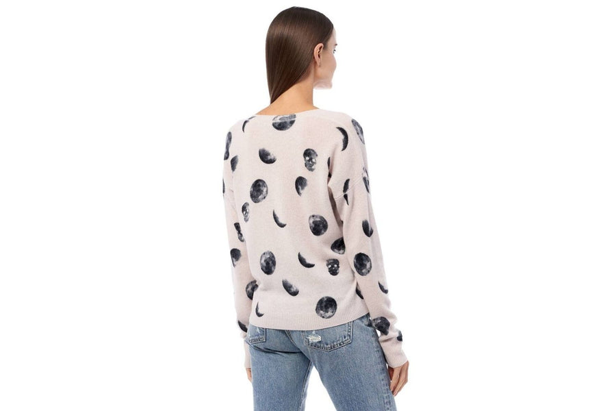 360 Skull Cashmere Lunar Love Sweater
