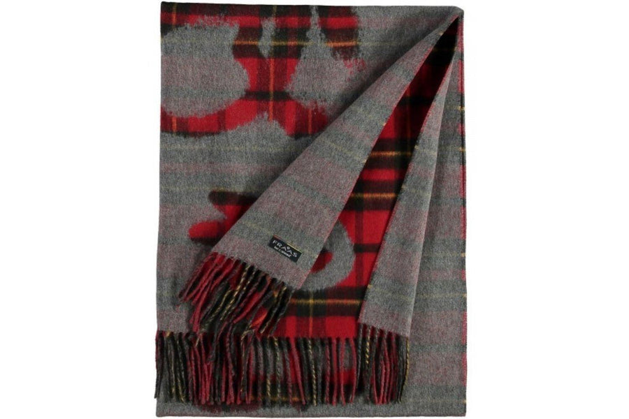 Fraas Cashmink Queen For a Day Scarf in Red