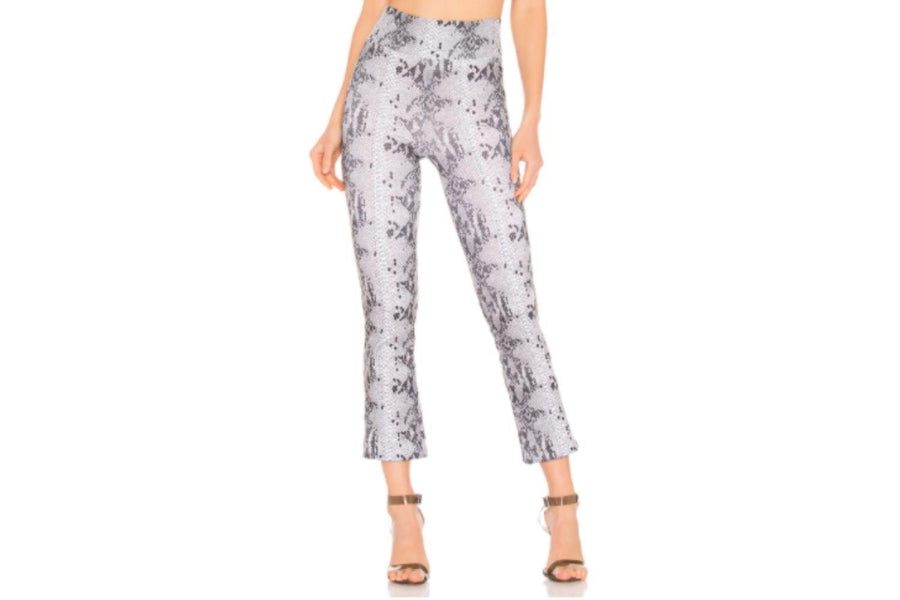 David Lerner Seamed Crop Flare Pant - Carriage Trade Shop