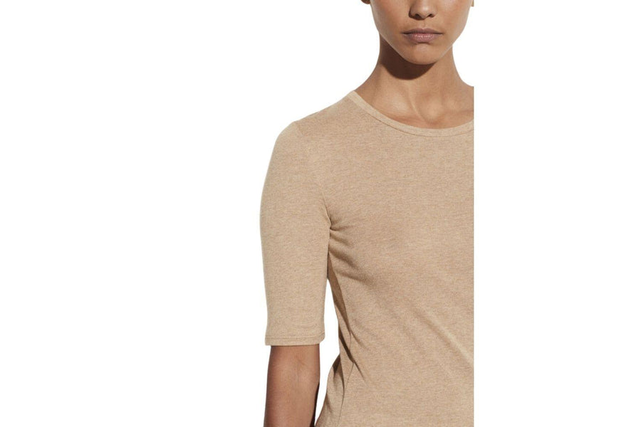 Vince Elbow Sleeve Crew Neck Tee
