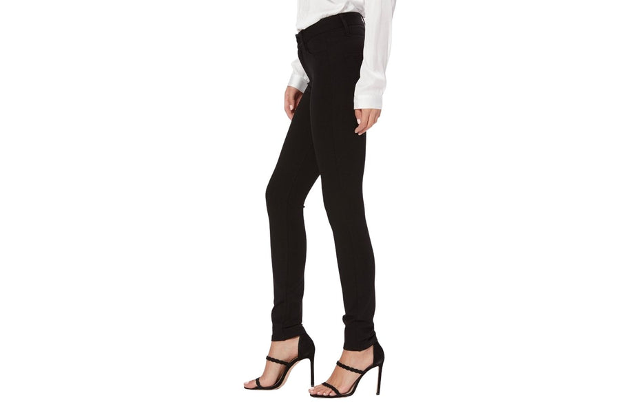 Paige Hoxton Ultra Skinny Ponte Pant in Black