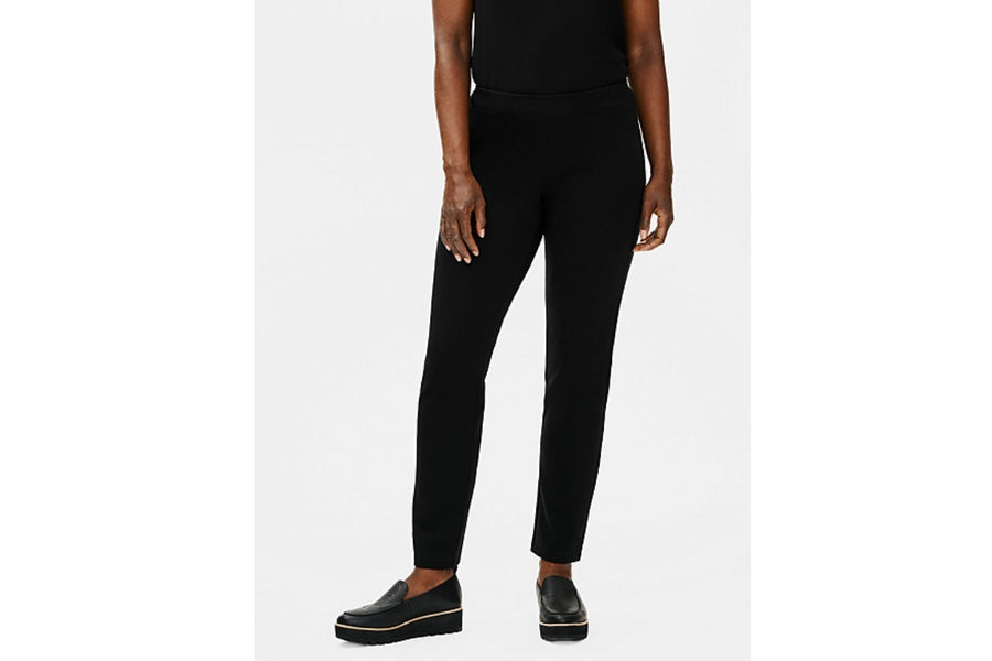 Eileen Fisher Flex Ponte Slim Ankle Pant