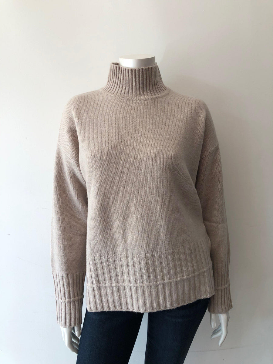 Repeat Taupe Cashmere Sweater