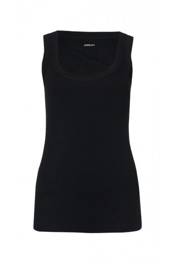 Marc Cain Fine-ribbed Tank in Black