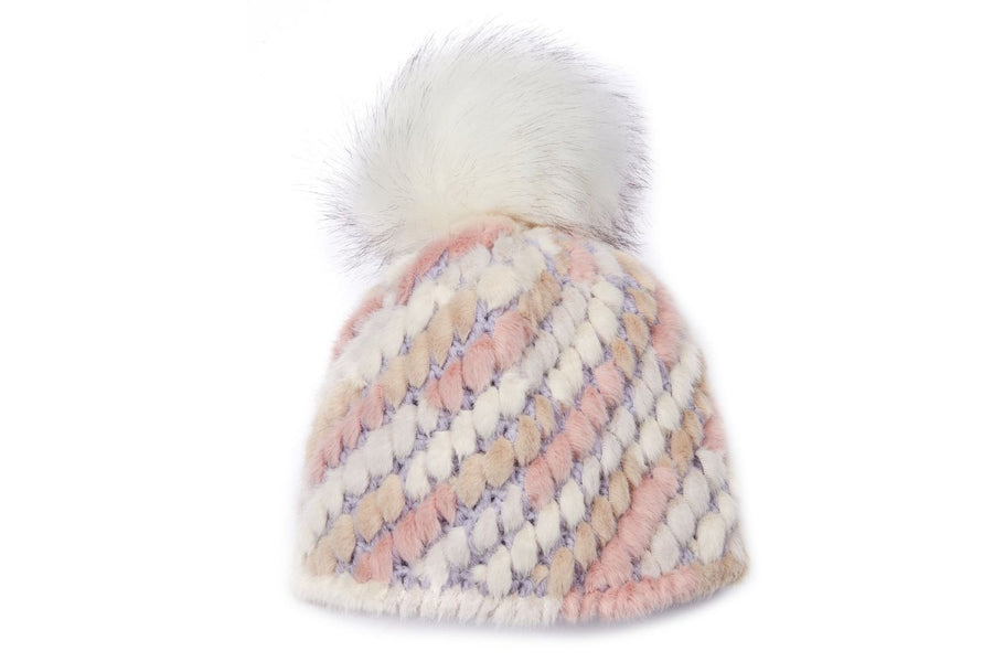 Jocelyn The Crosby Hat in Pastel Pink