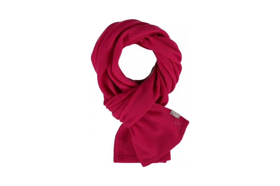 Fraas Pure Cashmere Scarf in Pink
