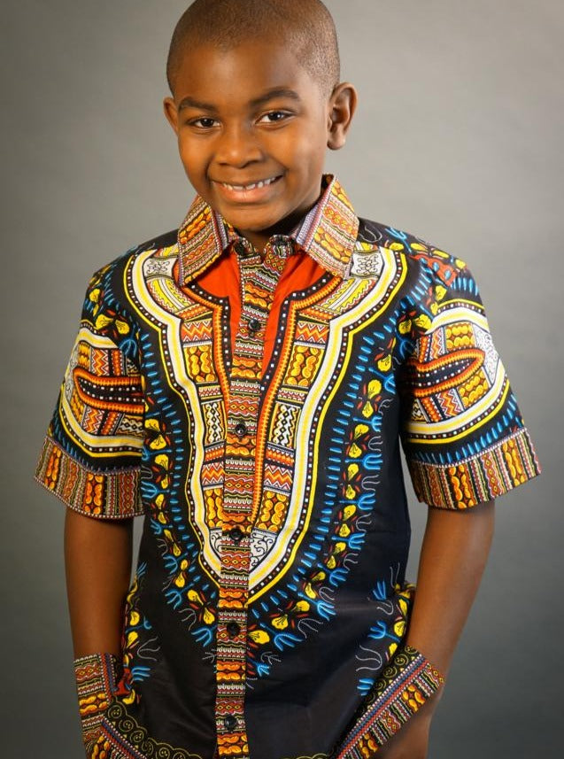 Ohemaa Girl's African Kente Skirt