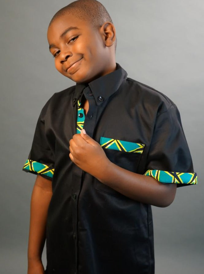 ExploreAfrica African clothing: African Boy's Shirt