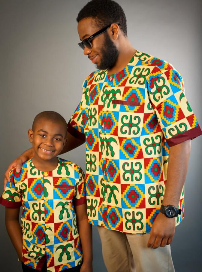 ExploreAfrica African clothing: African Men Shirt