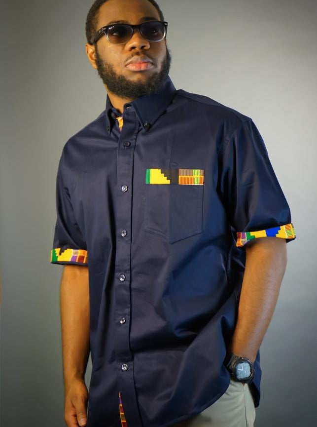 ExploreAfrica: African Clothing - African Men Shirt