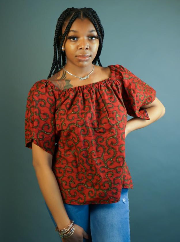 ExploreAfrica African clothing: African Women Top