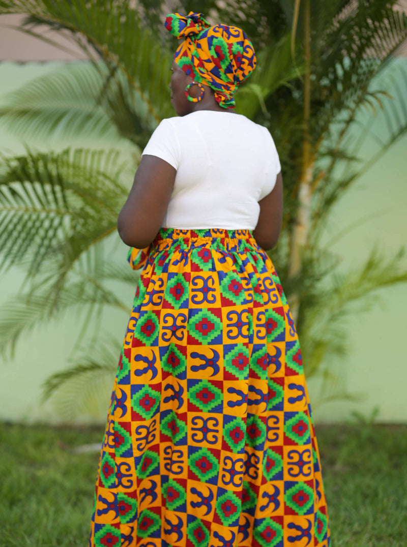 ExploreAfrica African clothing: African Women Skirt