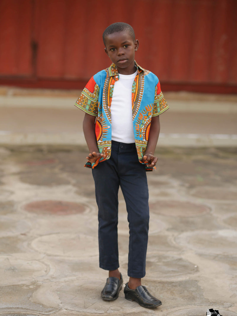 African Shirts for Boys