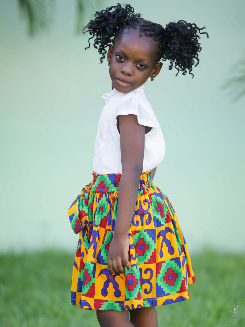 African Fashion: African Young Girl Skirt