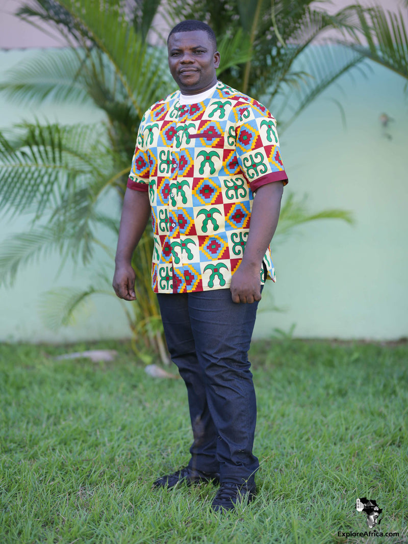 African Clothing: African Men Shirt
