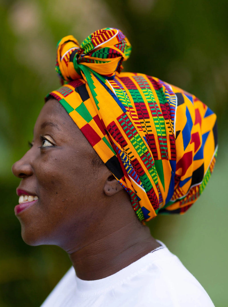 Explore African Clothing Head Wraps