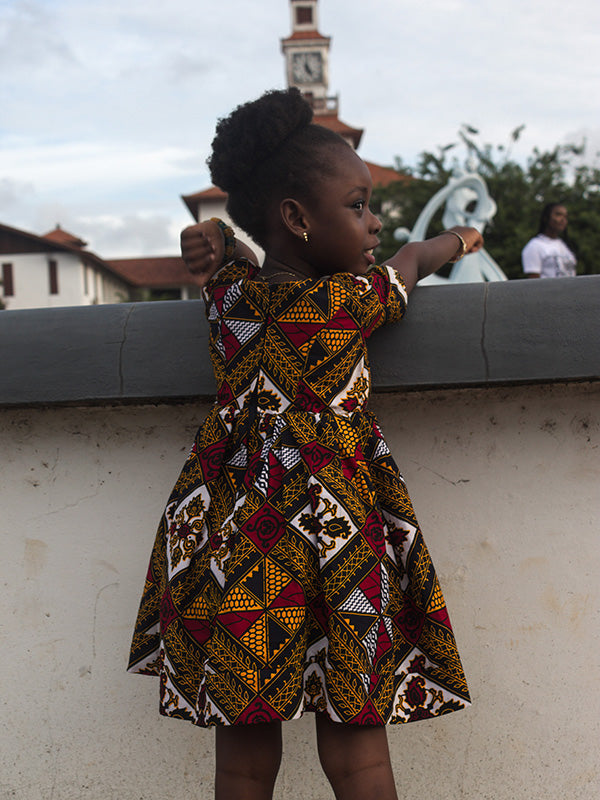 African Fashion: African Young Girl Dress
