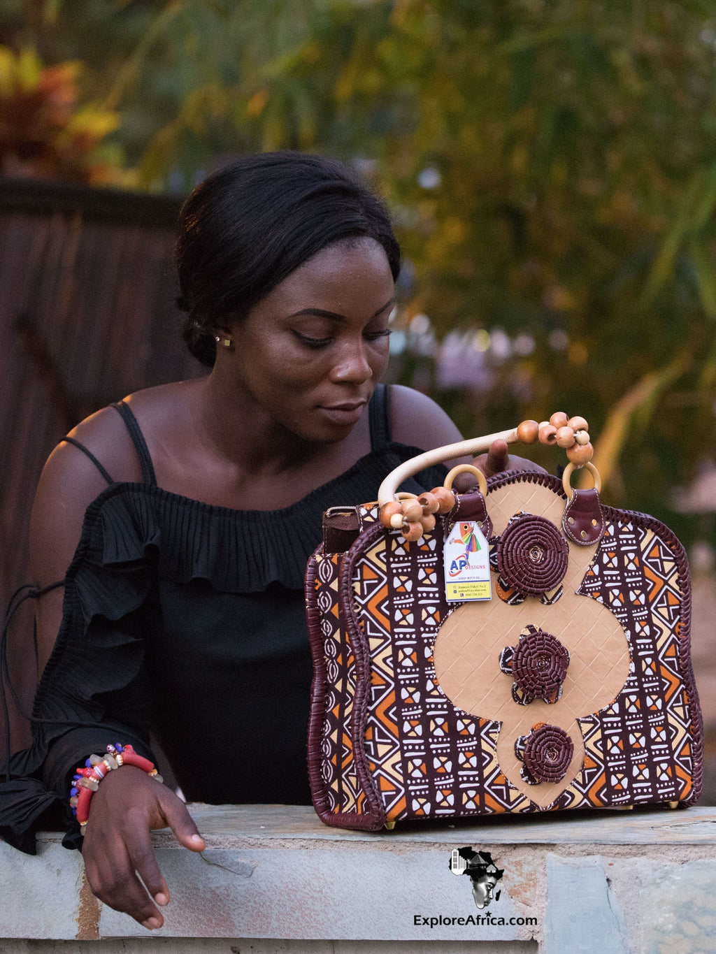 African Fashion: African Print Handbags