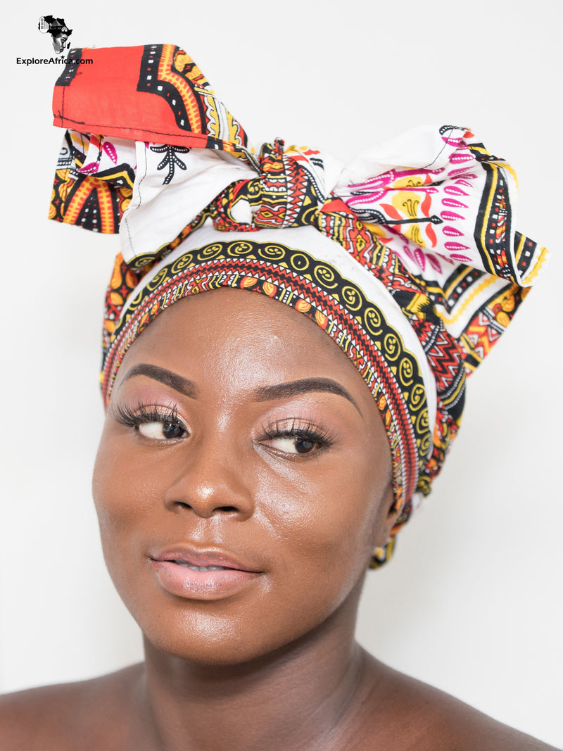Explore African Clothing Women Head Wrap