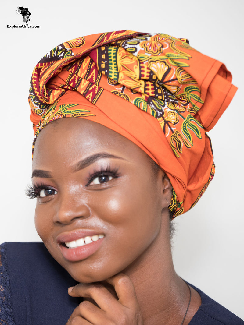 Explore African Clothing Women Head Wraps