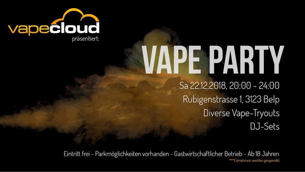 Vape Party am 22.12.2018