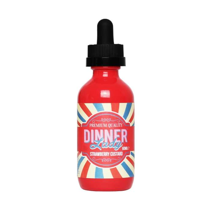 Dinner Lady Strawberry Custard E-Liquid