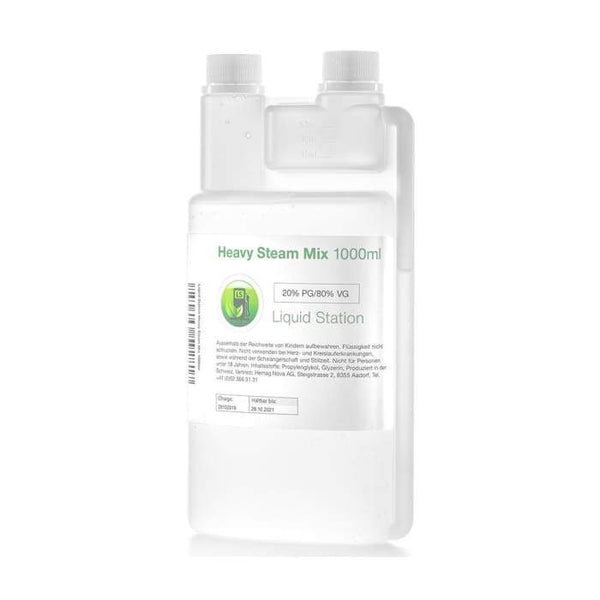 Liquid Station Base Heavy Steam Mix 80VG/20PG 1000ml