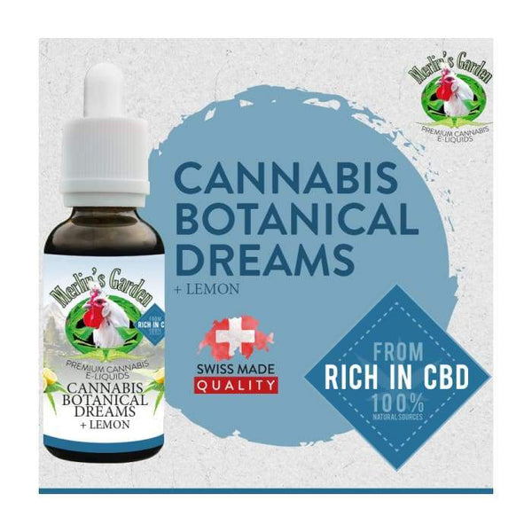 Merlin's Garden Botanical Dreams Lemon Liquid mit CBD