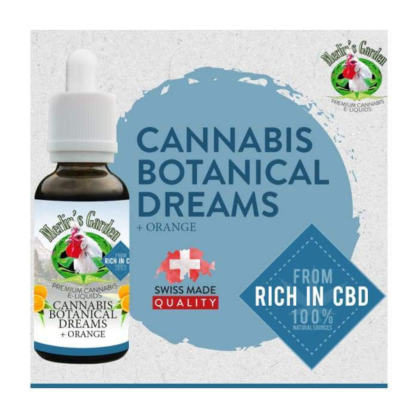 Merlin's Garden Botanical Dreams Orange Liquid mit CBD