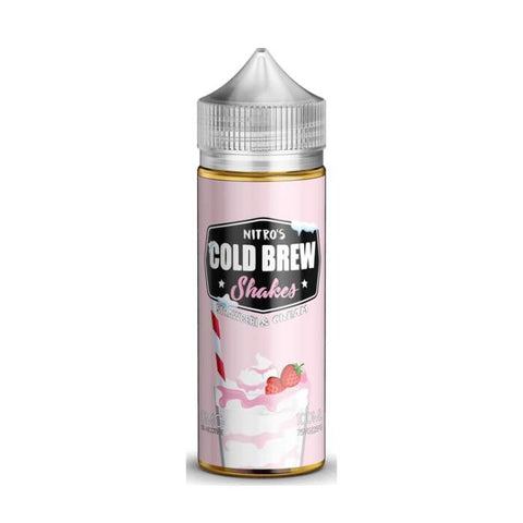 Nitro's Cold Brew Strawberry & Cream E-Liquid