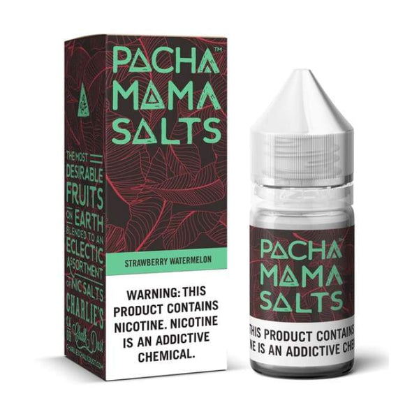 Pacha Mama Salts Strawberry Watermelon E-Liquid