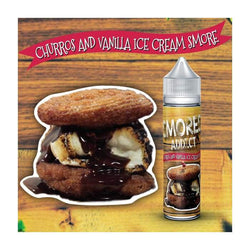 Smores Addict Churros and Vanilla Ice Cream Smore E-Liquid