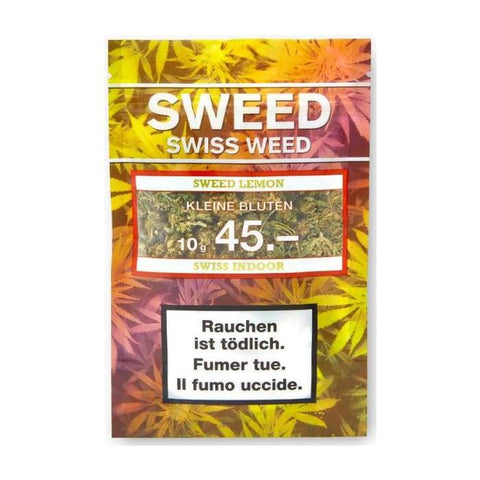 Sweed Lemon CBD Blüten