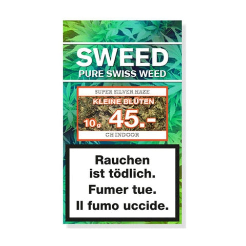Sweed Silver Haze CBD Blüten