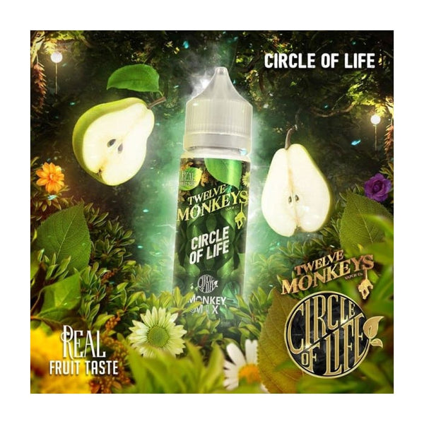 Twelve Monkeys Circle of Life E-Liquid