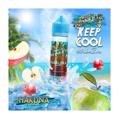 Twelve Monkeys Hakuna Iced E-Liquid