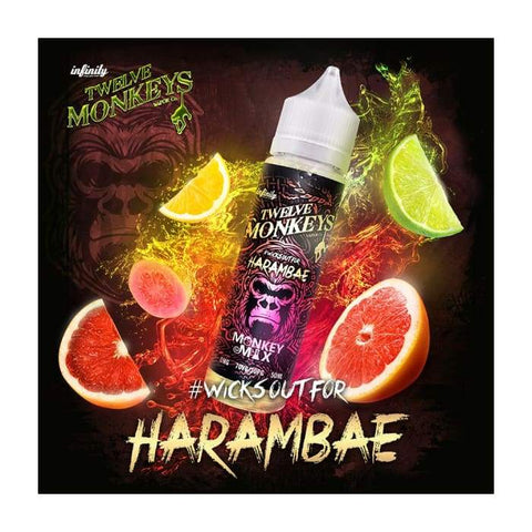 Twelve Monkeys Harambae E-Liquid